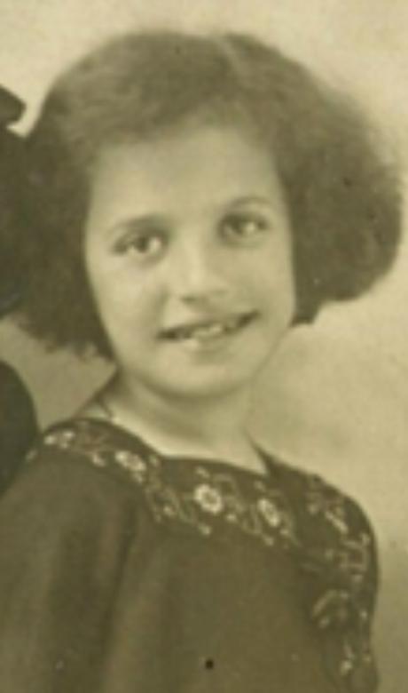 Esphyr Slobodkina as a child