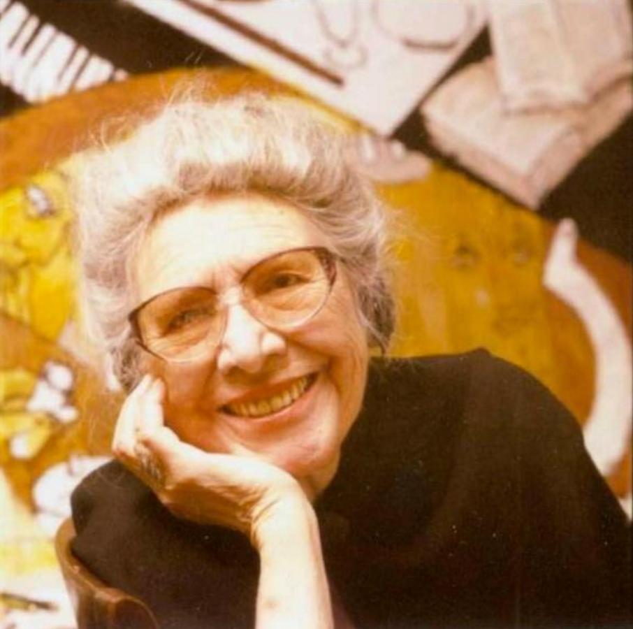 Slobodkina at age 91.