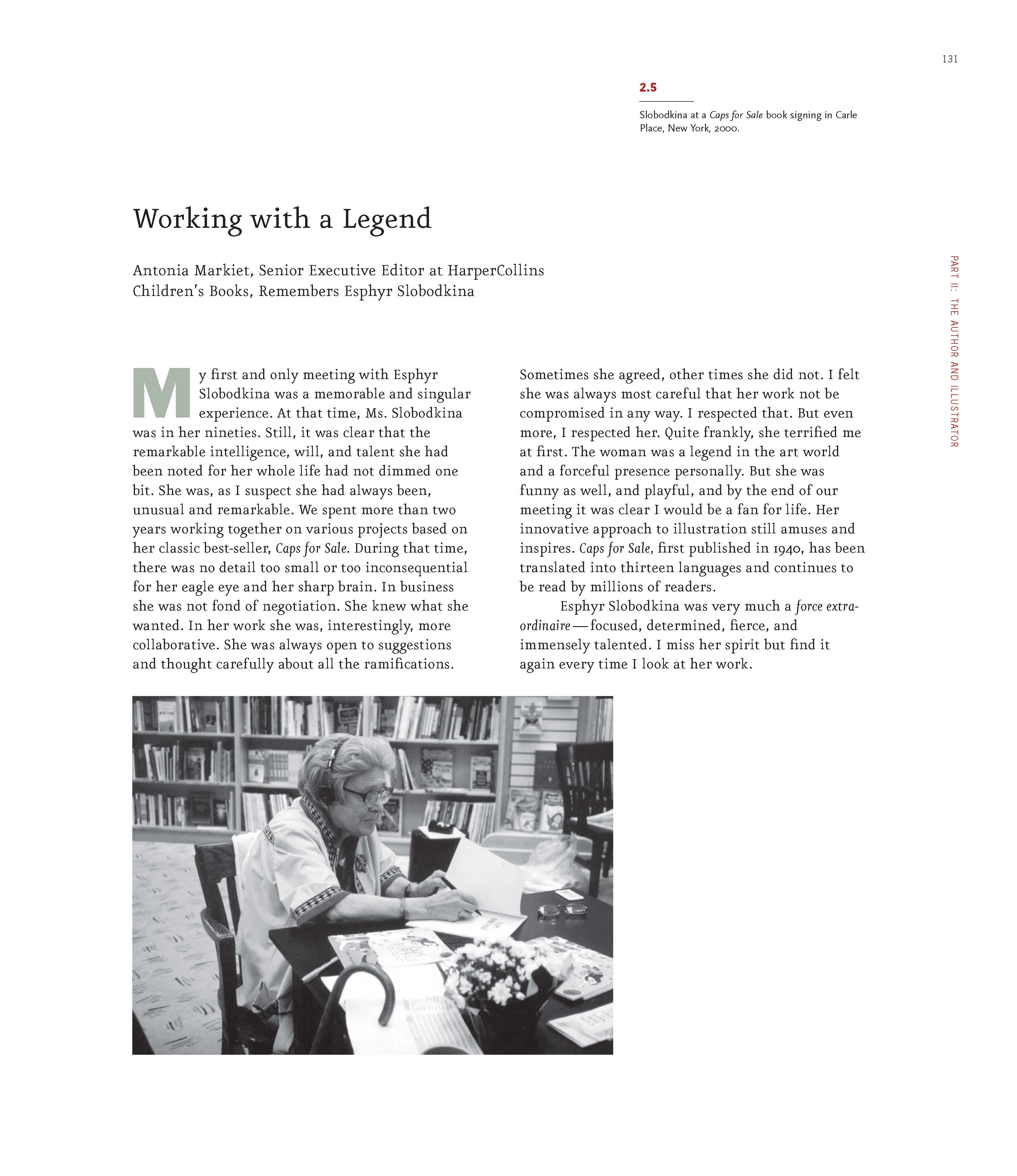 _Markiet Essay Working With A Legend_Page_1